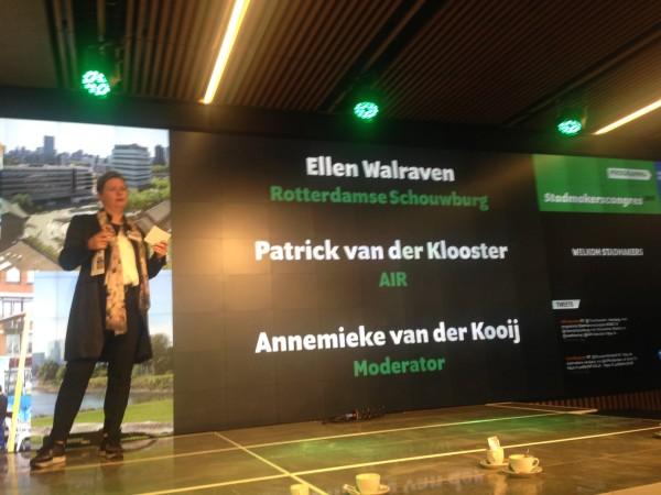 Moderator Stadmakerscongres Annemieke van der kooij